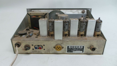 Rogers Cadet III FM Variable Tuner