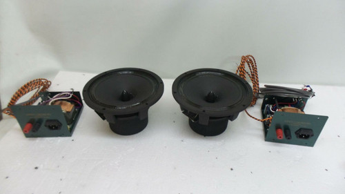 Shindo Labs Lafite Field Coil Full Range Field Drivers and Crossovers