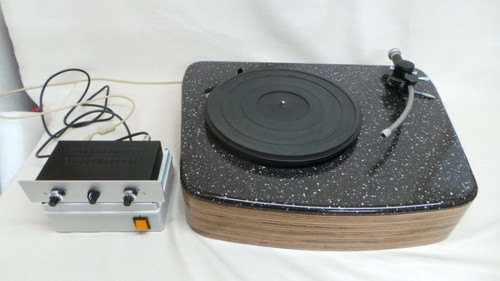 Goldring Lenco Turntable with DC Motor Conversion and Battery PSU