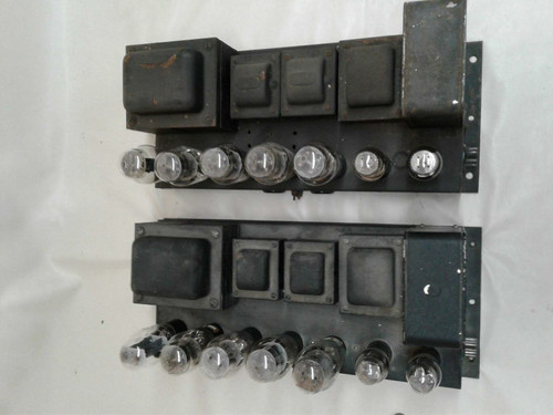 Webster PP 2A3 Valve Monoblocks 115v for Restoration