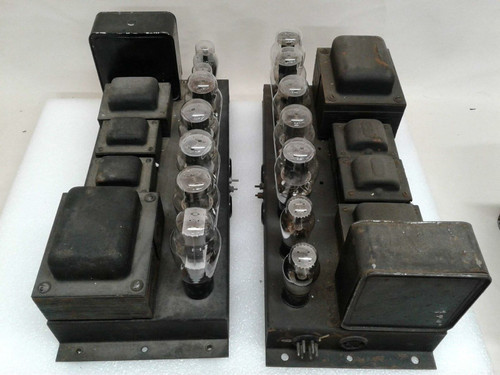 Webster PP 2A3 Valve Monoblocks 115v for Restoration