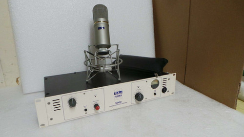 TLA Ivory 2 500 Condenser Microphone and Tube Preamp/PSU