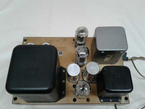 Heathkit W5M Valve Amplifier 6I6 Push Pull 110-120V