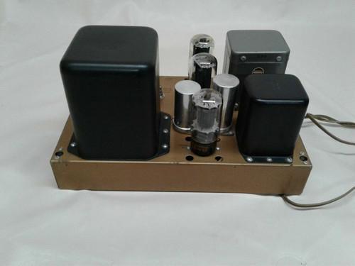 Heathkit W5M Valve Amplifier 6I6 Push Pull 110-120V