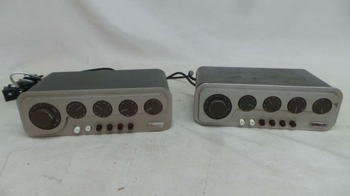 Pair Quad QC2 Mono Valve Preamps for Restoration