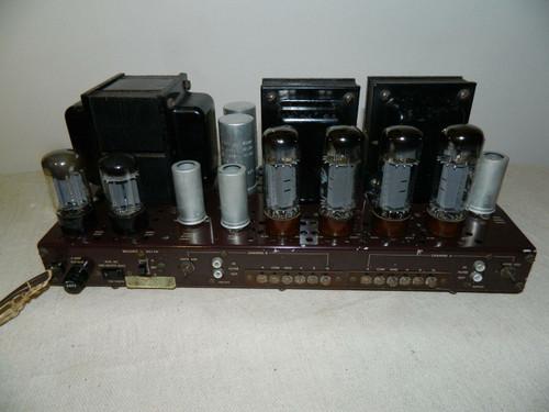 Fisher SA300 Power Amp with Mullard EL34 Tubes 115v
