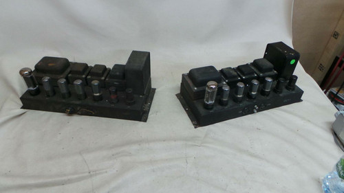Webster/Hammond PP 6V6 115v Valve Monoblocks for Restoration