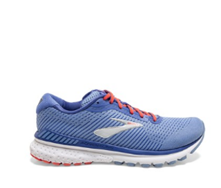 W Brooks Adrenaline GTS 20 Blue/Coral/Silver