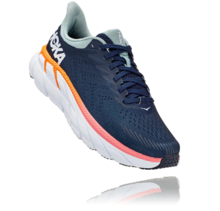 W Hoka Clifton 7 Navy/Blue