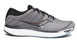 M Saucony Hurricane 22 Grey/Black