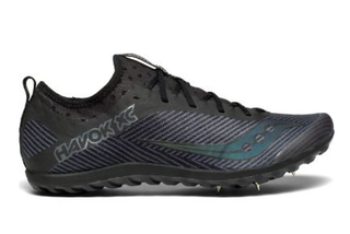 M Saucony Havok XC Spike Black