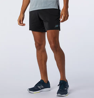 "M New Balance Q Speed Fuel 7"" Short Black"