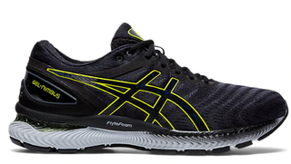 M Asics Gel Nimbus 22 Grey/Yellow