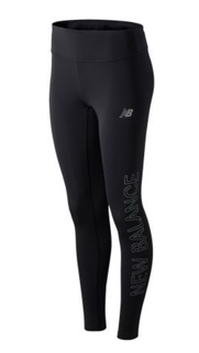 W New Balance Reflective Accelerate Tight Black