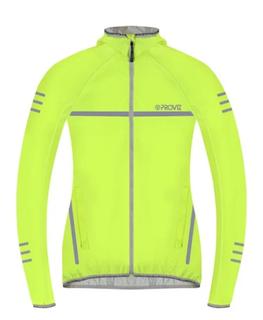 W Proviz Classic Waterproof Running Jacket Yellow