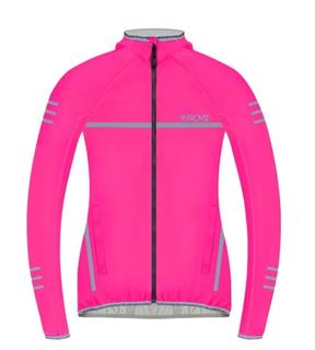 W Proviz Classic Waterproof Running Jacket Pink