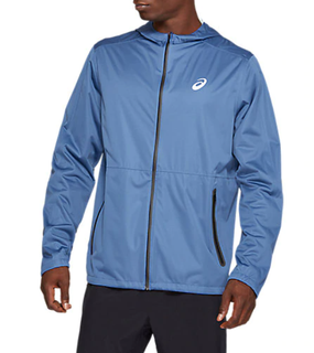 M Asics Accelerate Jacket Grand Shark Blue WAS €140 NOW
