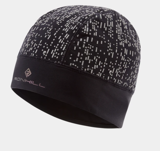 A Ron Hill Night Runner Beanie Black