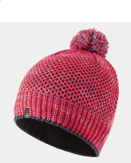 A Ron Hill Bobble Hat Pink