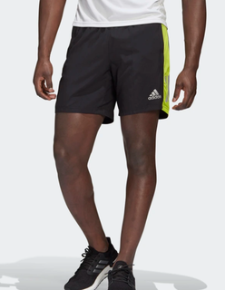 M Adidas Own The Run Short Black/Green