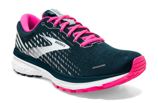W Brooks Ghost 13 Reflective Pond/Pink/Ice