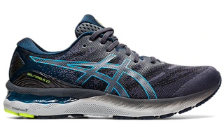 M Asics Gel Nimbus 23 Grey/Blue