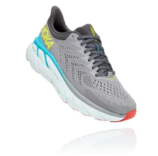 M Hoka Clifton 7 Grey/Blue/Yellow