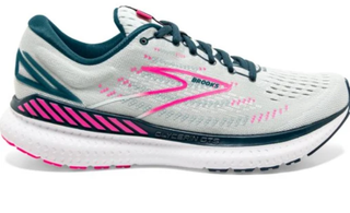 W Brooks Glycerin GTS 19 Ice flow/Navy/Pink