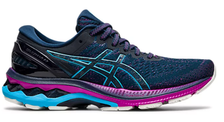 W Asics Gel Kayano 27 French Blue/Aqua