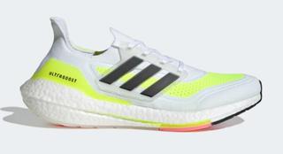 M Adidas Ultraboost 21 White/Yellow
