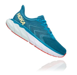 W Hoka Arahi 5 Blue/Yellow