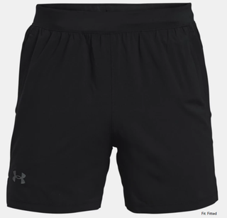 "M UA Launch Run Shorts 5"" Black"