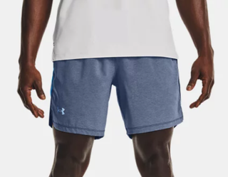 "M UA Launch Run 7"" Shorts Blue"