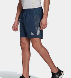 M Adidas Own The Run Short Navy 7""