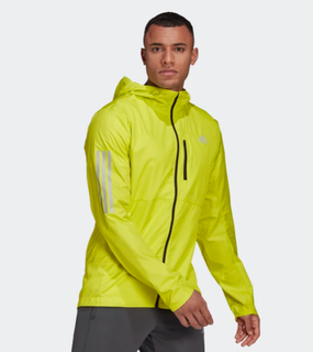 M Adidas Own The Run Jacket Yellow