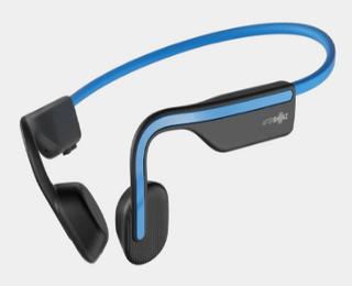 A Aftershokz Open Move Headphones Blue