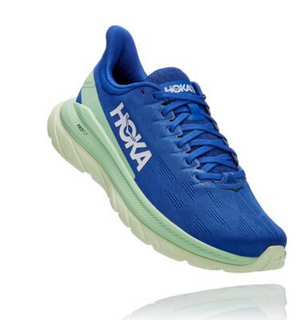 M Hoka Mach 4 Dazzling Blue/Green