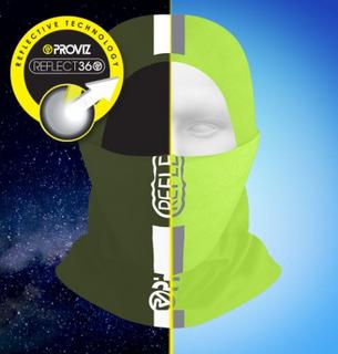 A Proviz Reflective Neck Gaiter Yellow