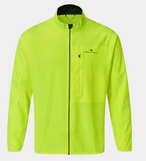 M Ron Hill Core Running Jacket Flame/Yellow