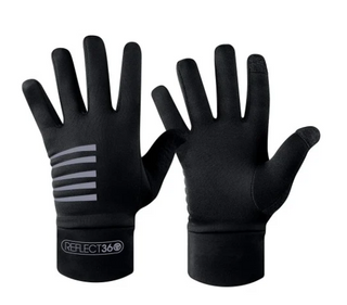 A Proviz Reflect 360 Running Gloves Black