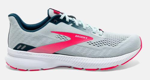 W Brooks Launch 8 Ice Flow/Navy/Pink