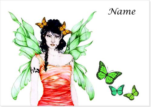Fern Fairy Butterflies - Personalised