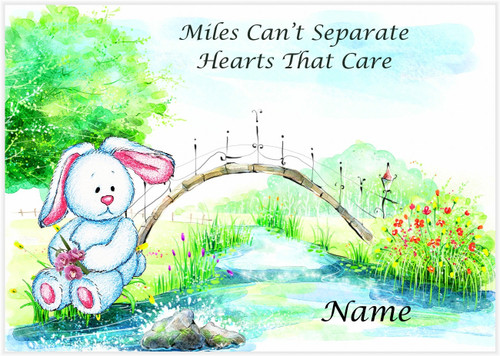 River's Edge Bunny - Personalised