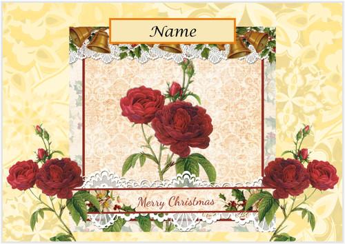 Christmas Roses - Personalised