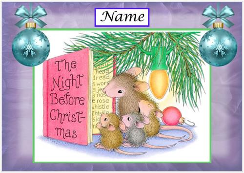 Night Before Christmas - Personalised
