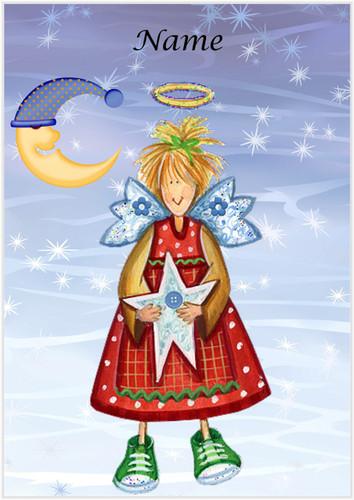 Moon Fairy Angel - Personalised