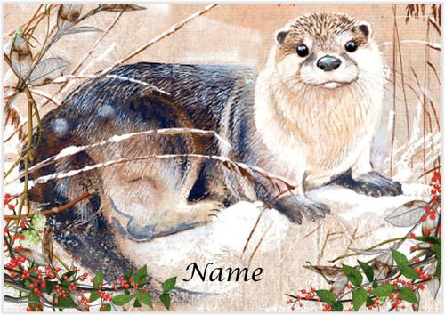 River Otter Landscape - Personalised
