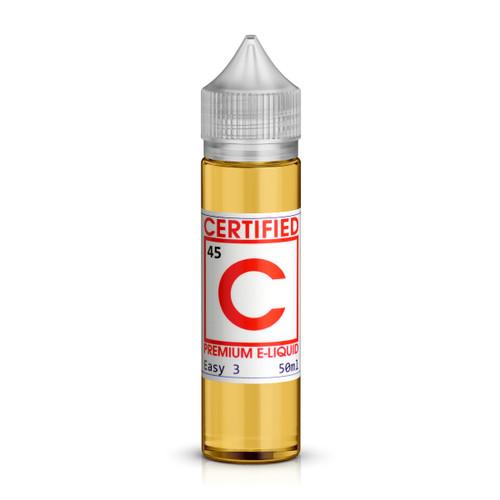 Custard Tobacco Shortfill E-Liquid by Certified Vapes