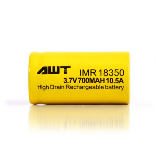 18350 800mAh 10.5A Battery by AWT