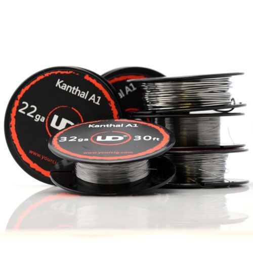 Kanthal wire reels by UD in a variety of gauges